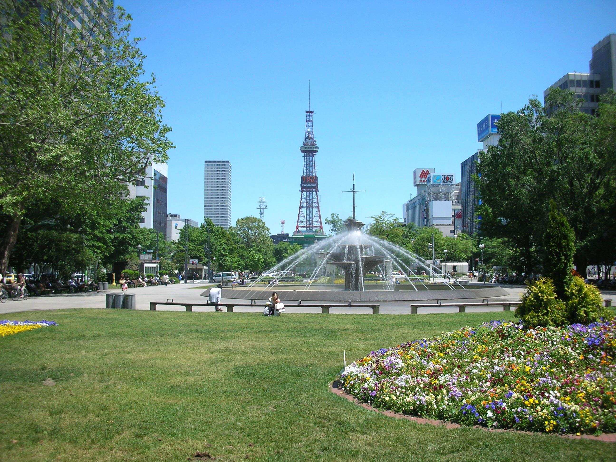 北海道グルメ彩都 スタッフ日誌 札幌大通公園 美味しい物は北海道にある!