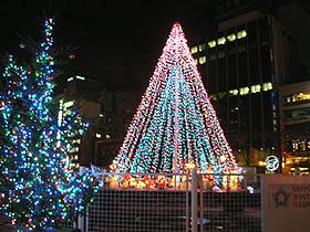 北海道グルメ彩都 スタッフ日誌 札幌大通り公園 ホワイトイルミネーション
