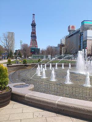 北海道グルメ彩都 スタッフ日誌 札幌大通公園の春