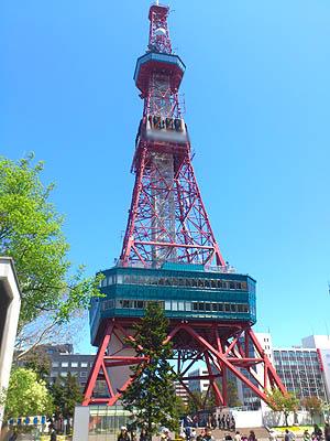 北海道グルメ彩都 スタッフ日誌 札幌大通公園の夜