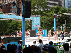 北海道グルメ彩都 スタッフ日誌 第23回よさこいソーラン祭り