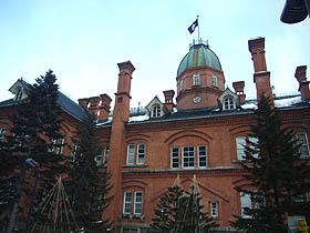 北海道、札幌を代表する歴史的建造物 観光名所のひとつです
