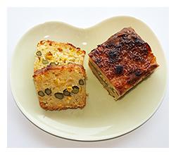アスパラとコーンのケークサレレシピ