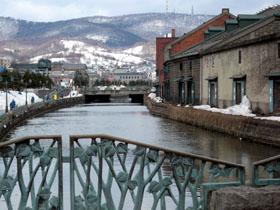 小樽運河の風景