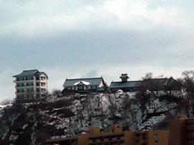 100年以上前に建てられた「鰊御殿の銀鱗荘」