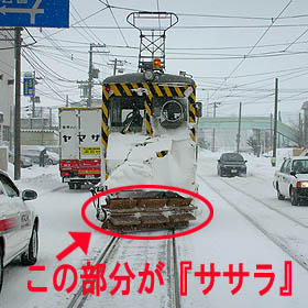 市民の強い味方!『ササラ』電車