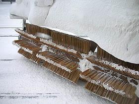 """この""""ササラ""""が、くるくる回って雪をはね除けるのです!"""